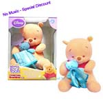 Sold Out Disney's Fisher-Price- Winnie the Pooh - Winnie Ami Veillease Baby Toy Love Gift